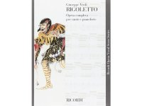 楽譜 RIGOLETTO - Ricordi Opera Vocal Series - VERDI - RICORDI