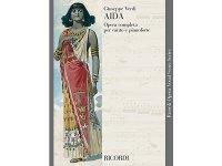 楽譜 AIDA - Ricordi Opera Vocal Series - VERDI - RICORDI