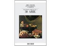 楽譜 ARIE ANTICHE - COLLEZIONE COMPLETA VOL. 1 (30 ARIE) - RICORDI
