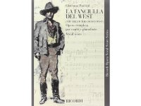 楽譜 LA FANCIULLA DEL WEST - THE GIRL OF THE GOLDEN WEST - Ricordi Opera Vocal Series - PUCCINI - RICORDI