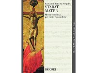 楽譜 STABAT MATER - Ricordi Opera Vocal Series - PERGOLESI - RICORDI