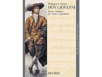 楽譜 DON GIOVANNI - Ricordi Opera Vocal Series - MOZART - RICORDI