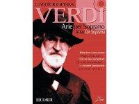 楽譜 CANTOLOPERA - VERDI - ARIE PER SOPRANO 1 PER VOCE E PIANOFORTE PIANO VOCAL SCORE AND CD WITH INSTRUMENTAL AND VOCAL VERSIONS CD付き - RICORDI
