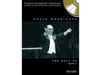 楽譜 THE BEST OF ENNIO MORRICONE VOLUME 2 CD付き - ORIGINAL SOUNDTRACK COLLECTION - CONTAINS A CD WITH THE FILM MUSIC OF ENNIO MORRICONE - RICORDI