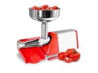 トマトソース製造用電動トマト搾汁機