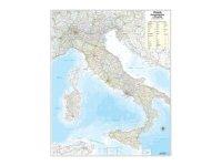 イタリア マップ 85 x 67 cm