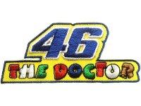 イタリア 刺繍ワッペン The Doctor 46 VALENTINO ROSSI 【カラー・イエロー】【カラー・ホワイト】【カラー・グリーン】【カラー・ブルー】