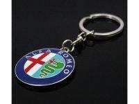 イタリア キーホルダー Alfa Romeo 【カラー・ブルー】