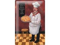 アンティーク風サインプレート イタリア ピッツァ Pizza 30x20cm【カラー・マルチ】