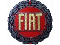 イタリア 刺繍ワッペン FIAT【カラー・イエロー】【カラー・レッド】