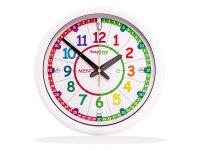 イタリア語を学ぼう サイレント掛け時計【カラー・マルチ】【カラー・ホワイト】