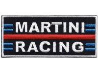 イタリア 刺繍ワッペン MARTINI RACING サイズ大 【カラー・ホワイト】【カラー・レッド】【カラー・ブラック】