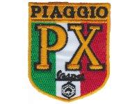 イタリア 刺繍ワッペン Vespa Piaggio 【カラー・イエロー】【カラー・ホワイト】【カラー・レッド】【カラー・グリーン】