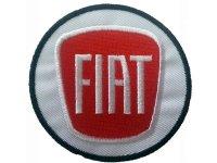 イタリア 刺繍ワッペン FIAT 【カラー・ホワイト】【カラー・レッド】【カラー・ブラック】
