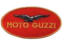 イタリア 刺繍ワッペン Moto Guzzi 【カラー・イエロー】【カラー・レッド】