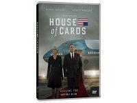 イタリア語などで観るケヴィン・スペイシーの「ハウス・オブ・カード 野望の階段 シーズン3」 DVD 4枚組  【B2】【C1】