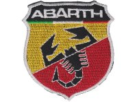 イタリア 刺繍ワッペン ABARTH 【カラー・イエロー】【カラー・レッド】