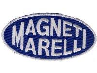 イタリア 刺繍ワッペン MAGNETI MORELLI【カラー・ホワイト】【カラー・ ブルー】