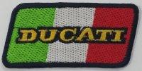 イタリア 刺繍ワッペン DUCATI MONSTER 【カラー・ブラック】【カラー・ホワイト】【カラー・レッド】【カラー・グリーン】