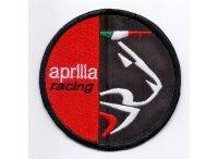 イタリア 刺繍ワッペン APRILIA RACING 【カラー・ホワイト】【カラー・レッド】【カラー・ブラック】