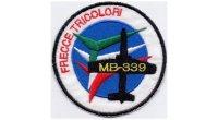 イタリア 刺繍ワッペン FRECCE TRICOLORI 【カラー・ホワイト】【カラー・イエロー】【カラー・レッド】【カラー・グリーン】