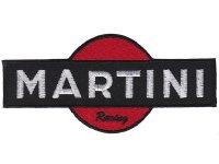 イタリア 刺繍ワッペン MARTINI Racing 【カラー・ホワイト】【カラー・レッド】【カラー・ブラック】