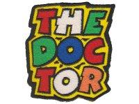 イタリア 刺繍ワッペン VALENTINO ROSSI THE DOCTOR 【カラー・イエロー】【カラー・グリーン】【カラー・レッド】【カラー・ホワイト】