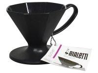 プラスチック製コーヒードリッパー Bialetti(ビアレッティ)【カラー・ブラック】