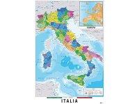 イタリア地図 マップ 91 x 61 cm