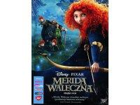 英語&ポーランド語で観る、マーク・アンドリュースの「メリダとおそろしの森」 DVD