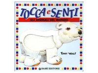 イタリア語で読む、触る絵本 世界の動物たち 対象年齢0歳以上 【A1】