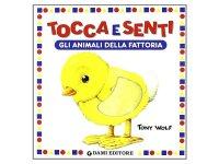 イタリア語で読む、触る絵本 農家の動物たち 対象年齢0歳以上 【A1】