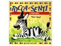 イタリア語で読む、触る絵本 動物の子供たち 対象年齢0歳以上 【A1】