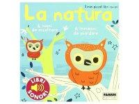 イタリア語で読む、音が出る絵本 自然 対象年齢3歳以上 【A1】