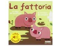 イタリア語で読む、音が出る絵本 農家 対象年齢3歳以上 【A1】