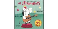 イタリア語で読む、音が出る絵本 楽器 対象年齢3歳以上 【A1】