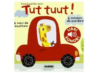 イタリア語で読む、音が出る絵本 のりもの 対象年齢3歳以上 【A1】