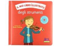 イタリア語で読む、絵本 CD付き初めての楽器【A1】
