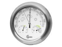 シンプルな温度計・気圧計・湿度計【カラー・ホワイト】【カラー・グレー】
