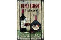 アンティーク風サインプレート イタリア 赤ワイン レリーフ 30x20cm【カラー・グリーン】【カラー・ワイン】