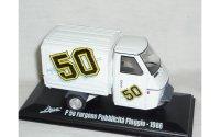 Italeri アーペ P50 Furgone Pubblicita Piaggio 1986【カラー・ホワイト】