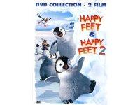 イタリア語などで観るジョージ・ミラーの「ハッピー フィート&ハッピー フィート2」 DVD 2枚組【B1】【B2】