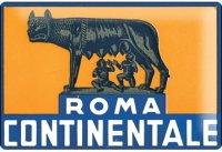 アンティーク風サインプレート イタリア ローマ Roma 30x20cm【カラー・ブルー】【カラー・イエロー】