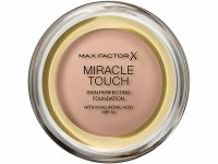 【7色展開】MAXFACTOR X コンパクトファンデーション MIRACLE TOUCH SKIN PERFECTING FOUNDATION WITH HYALURONIC ACID SPF 30