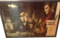 イタリア 映画 アンティークポスター I soliti ignoti (1958年) いつもの見知らぬ男たち マリオ・モニチェリ 50 x 70 cm