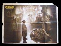 イタリア 映画 アンティークポスター L'ultimo imperatore (1987年) ラストエンペラー ベルナルド・ベルトルッチ 坂本龍一  140 x 200 cm(二枚組) manifesti