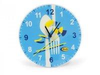 2柄展開 BARILLA 壁掛け時計 30 cm バリッラ【カラー・ブルー】【カラー・イエロー】【カラー・マルチ】