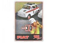 万年カレンダー フィアット FIAT 500 - SPORT - イタリア インテリア【カラー・マルチ】