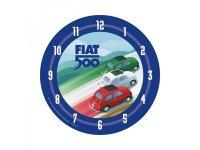 6柄展開 FIAT 500 壁掛け時計 フィアット【カラー・ブルー】【カラー・イエロー】【カラー・ブラック】【カラー・レッド】