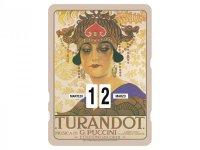 万年カレンダー RICORDI - TURANDOT - イタリア インテリア【カラー・マルチ】